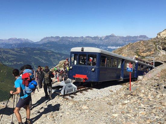 Tramway du Mont-Blanc: 終点 ニー・デグルの駅