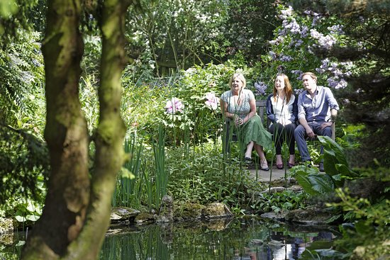 Take time out in the less formal parts of the garden, undoubtedly with a chance to watch wildlife (c) National Trust / Chris Lacey