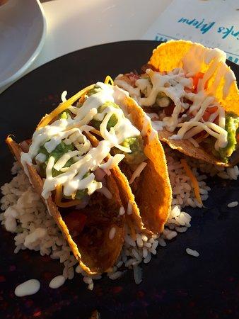 Balearic Islands, Spain: Tacos mit pulled pork