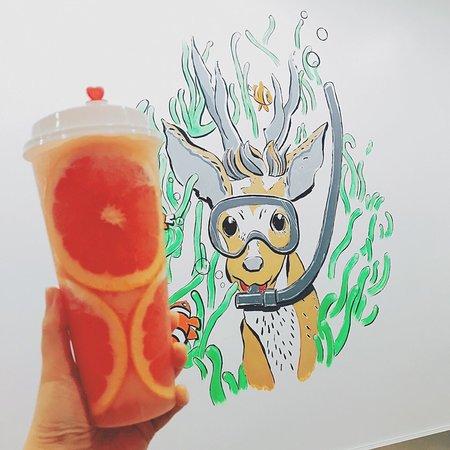 The Alley Au: Grapefruit Tea