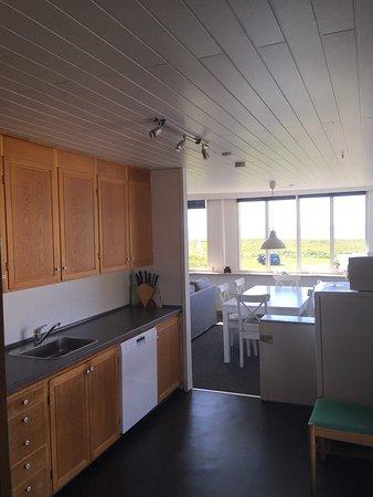 Aa Strand Camping: Køkken i ferielejligheden