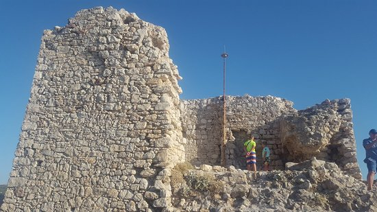 Tolle Ruine mit grandioser Aussicht