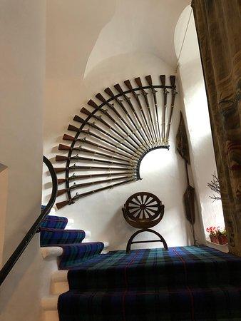 Sin colas: entrada al castillo de Cawdor: Rifle display