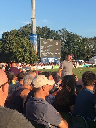 Lovely evening at Cricket