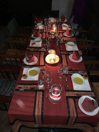 3 course dinner