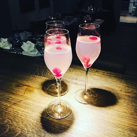 Ostfildern, Germany: Silvester-Cocktail.