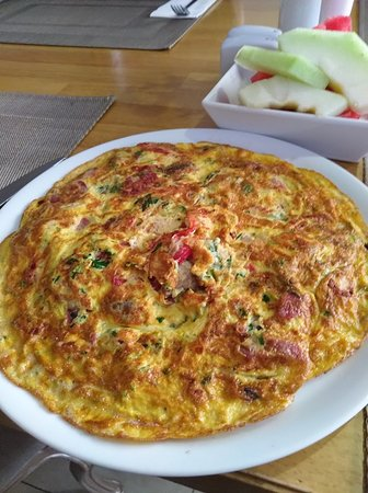 Favorite breakfast omelet