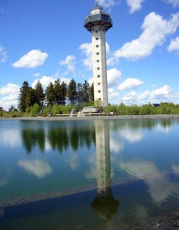 Hochheideturm: Spiegel-Bild vom Hochheider Turm...