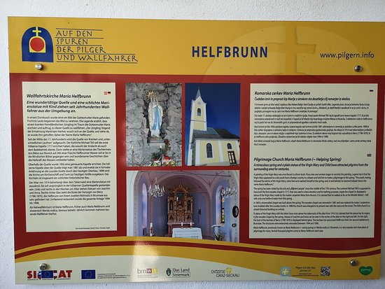Wallfahrtskirche Maria Helfbrunn in der Südoststeiermark