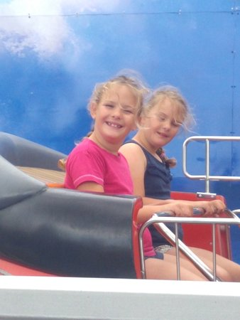 Loving the tug boat ride