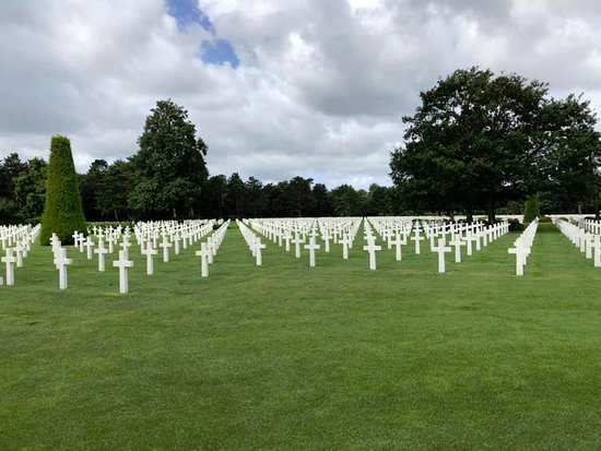 All-American Private Day Tour to Normandy D-Day Beaches from Paris: American Cemetery