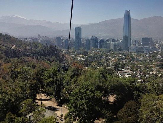 Santiago Metropolitan Region, شيلي: A Bela Santiago e Bondinhos do Teleférico de Santiago - Um passeio lindo