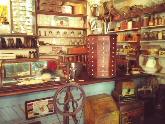 The Oldest Store Museum: original store items!!