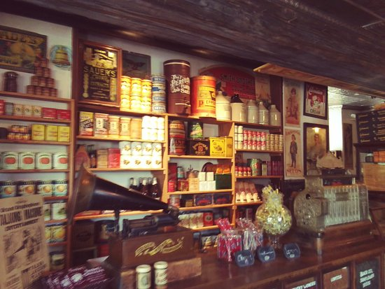 The Oldest Store Museum: All original goodies!