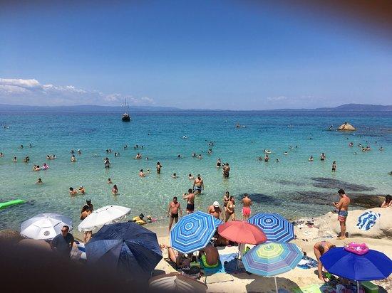 Passage à Orange Beach Sarti