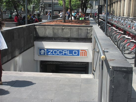 This is the subway station to get off