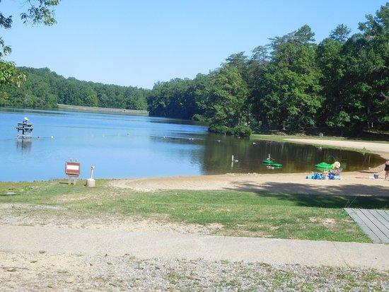 Bear Creek Lake State Park: Swimming Beach