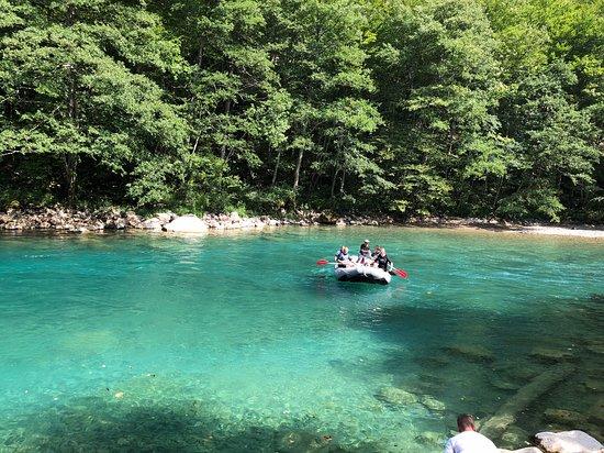 Rafting River Tara: Rafting 1