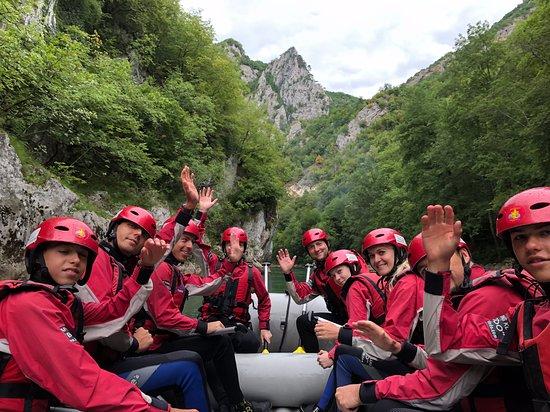 Rafting River Tara: Rafting 3