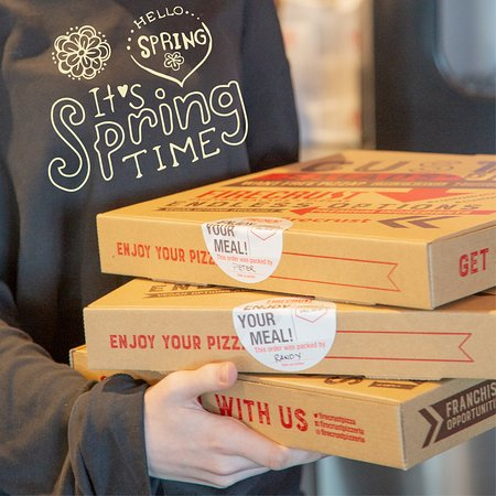 pick up your pizza today