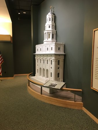 Mormon Trail Center at Historic Winter Quarters: Hundreds of displays with their individual story