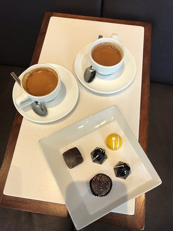 Espresso and chocolate - what more do you need?