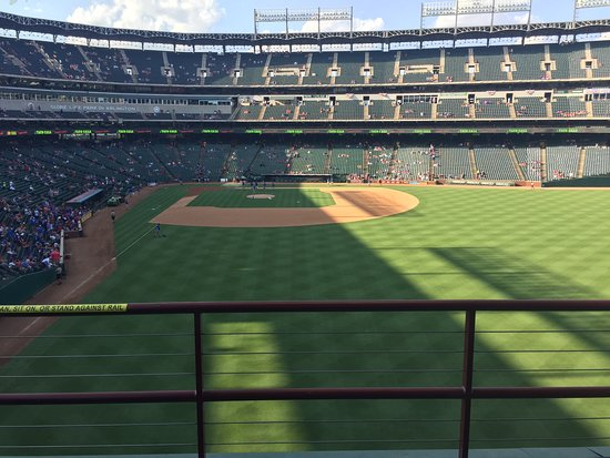 Pregame Texas Rangers vs Minnesota Twins from the 'All You Cab Eat' section.