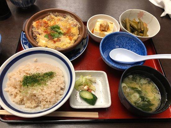 すじ鍋定食