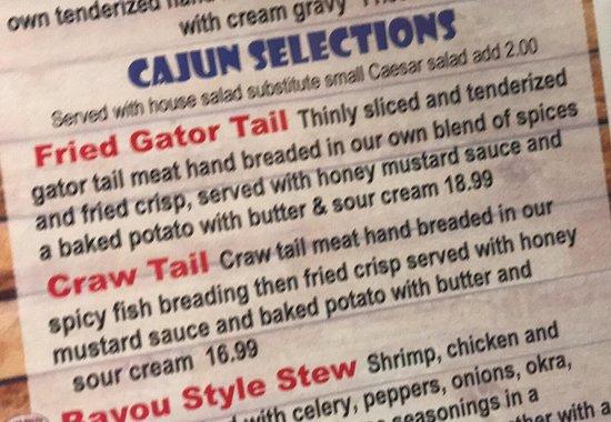 Poseyville, IN: The Red Wagon - Fun Cajun selections!