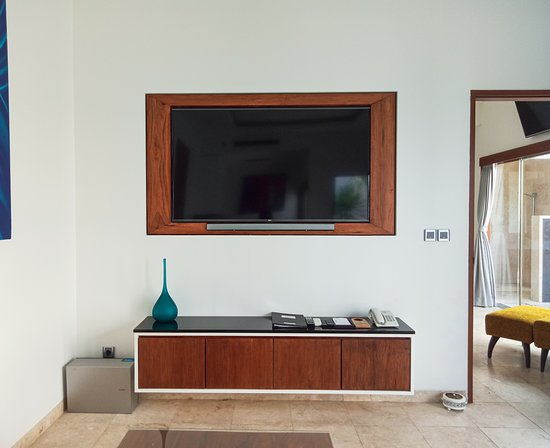 65 Inch TV in lounge room