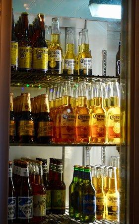 Always cold beer.