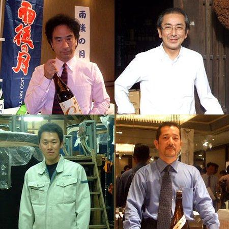 素晴らしい広島地酒蔵元さん達