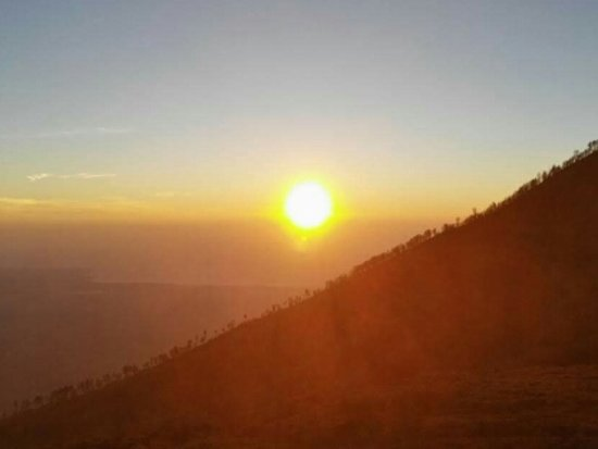 Ijen Crater very nice and good weather Thank you God