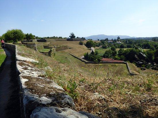Fortaleza de Valenca, utsikt mot söder