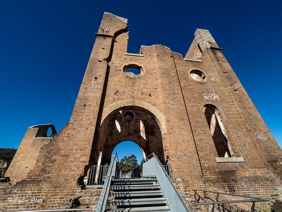 Blast Furnace Park: The main house was blow away after the blast