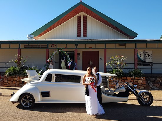 Weddings call us for this one of a kind  Limo Trike For your special Day