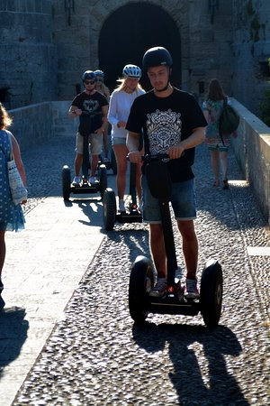 Rhodes by Segway: Old City Segway tour !!!