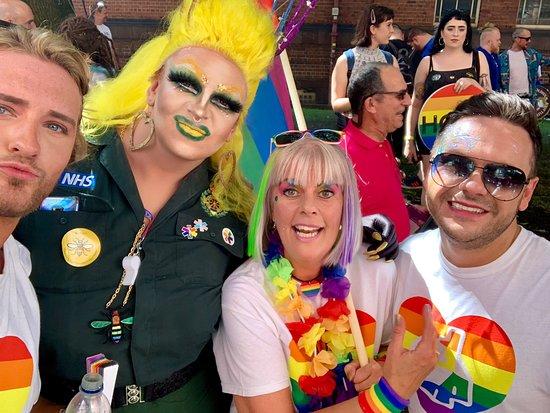 Manchester Pride Festival ❤️🏳️🌈🐝