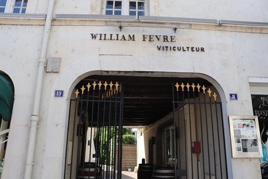 William Fevre Grands Vins De Chablis: エントランス