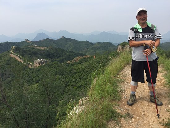 2-day Small group Iconic Great Wall Hiking at Gubeikou&Jinshanling led by farmer: The wonderful guide and innkeeper, Sun.