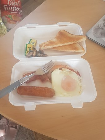 Don't bother ordering takeout breakfast