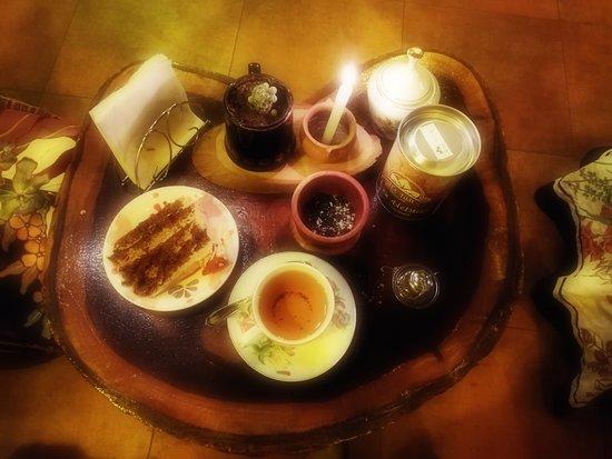 Variedad de tés e infusiones.