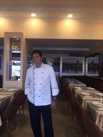 Il nostro chef Italiano 🇮🇹 Mauro e il nostro chef  Pâtissier Italiana 🇮🇹 Maruska