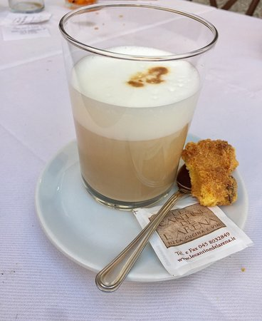 coffee with a fantastic home made biscuit