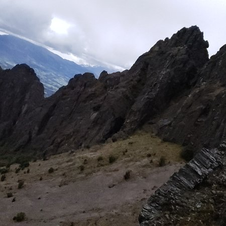 Machachi, الإكوادور: Volcan  Rumiñahui