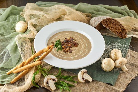 Taverna Oneiro: Грибной суп-крем