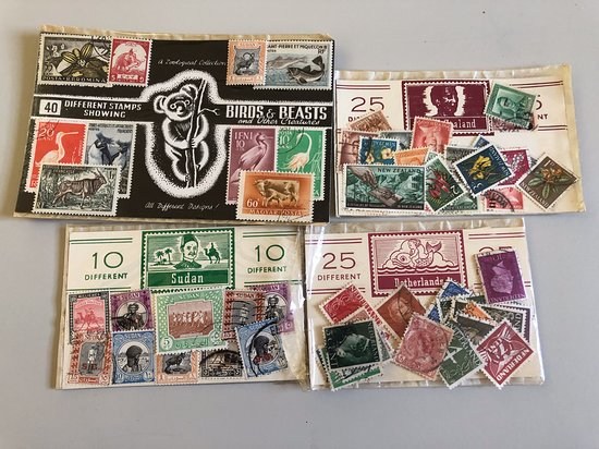 Some of the stamps we bought