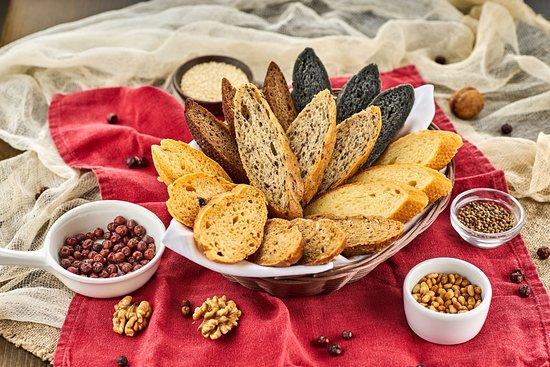 Taverna Oneiro: Хлебная корзинка ассорти