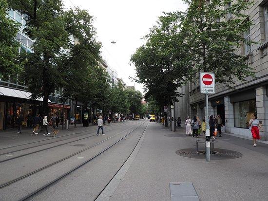 中央駅から反対側を臨む