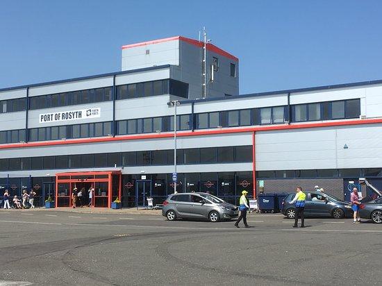 Balmoral: Photo A - Rosyth Security Reception Area.